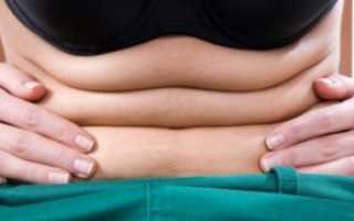 Как избавиться от жировой складки на животе. Как избавиться от складок на животе в домашних условиях