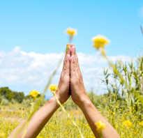 Приветствие буддистов. Как совершать намасте в йоге и в обычной жизни. Курение, алкоголь и уличные попрошайки