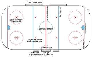 Разметка хоккейной площадки 30 60 метров. Какой должна быть разметка у хоккейной площадки? Основные правила разметки