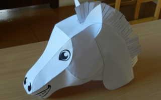 Костюм лошадки для мальчика на новый год. Как сделать карнавальный костюм лошади своими руками: два варианта. Маска из бумаги