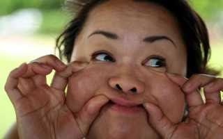 Как похудеть в лице и щеках. Как сделать щеки худыми