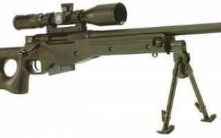 Снайперская винтовка Awp. Винтовка AWP: фото, характеристики