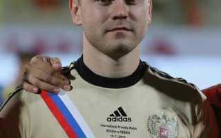 Игорь акинфеев сколько лет возраст. Игорь Акинфеев. Биография