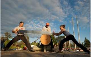 Соревнования дровосеков в канаде. Самые эмоциональные кадры соревнования лесорубов. Железные дровосеки из Хейворда: мировой чемпионат лесорубов