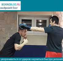 Как уклоняться от ударов в боксе. Как уходить от психологических ударов
