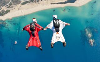 Прыжки без парашюта в костюме как называется. Вингсьют – что это такое и где можно прыгнуть