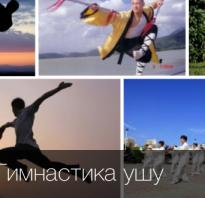 Оздоровительная гимнастика и комплекс упражнений ушу. Гимнастика ушу для начинающих: простые упражнения