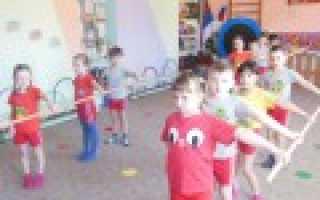 Утренняя зарядка 2 младшая группа по месяцам. Комплексы утренней гимнастики во второй младшей группе