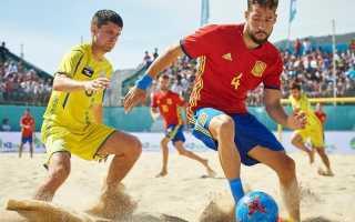 Пляжный футбол правила игры. Пляжный футбол — правила игры и мировой рейтинг