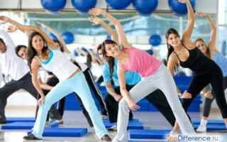 Разница между фитнесом и шейпингом. Отличия шейпинга от аэробики и фитнеса
