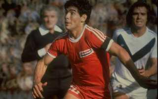 Под каким номером играл диего марадона. Диего Марадона — футболист-легенда. Фото, биография и достижения. Биография и карьера футболиста