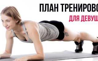 Комплексы упражнений по атлетической гимнастике для девушек. Тренировки дома для девушек: готовый план упражнений для всего тела
