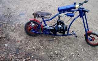 Скутер из бензопилы своими руками. Велосипед с двигателем от бензопилы. Что нам понадобится