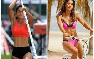 Самые красивые девушки-спортсменки олимпиады. Легкая атлетика для девочек вред или польза
