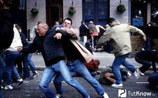 Четкие удары в драке. Как победить в уличной драке. Эффективное применение приемов самообороны