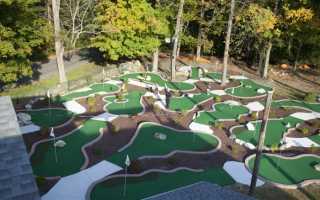 Гольф поле на даче. Бизнес-план мини-гольфа: размеры поля, необходимое оборудование, расчет затрат и методы привлечения клиентов. Разновидности сертифицированных площадок