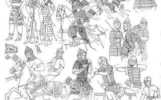 Вооружение монгольского война. Куликовская битва
