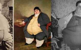 Самый толстый человек за всю историю. Самые известные толстяки мира (50 фото)