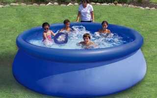 Можно заклеить надувной бассейн шву. Как заклеить детский надувной бассейн
