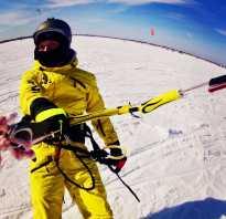 Катание на лыжах с парашютом как называется. На сноуборде с парашютом по заснеженным просторам