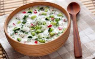 Овощная окрошка на кефире для похудения. Рецепты диетической окрошки, меню диеты для похудения и отзывы. Основные требования приготовления диетической окрошки